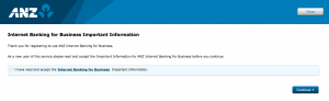Setting up ANZ Internet Banking for Business